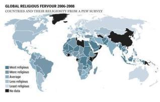religión mundo